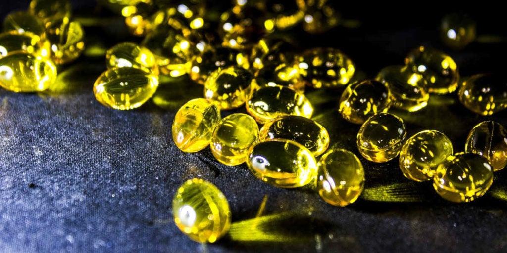 omega 3 kapsle s rybím olejem